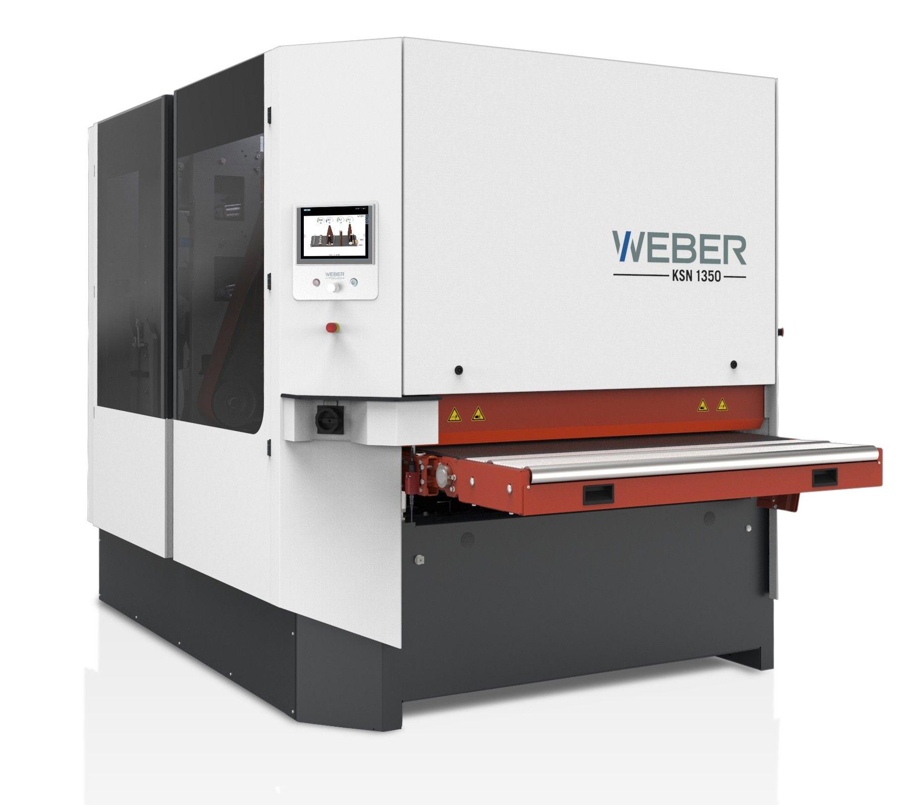 Weber automatic sanding machine KSN 1350