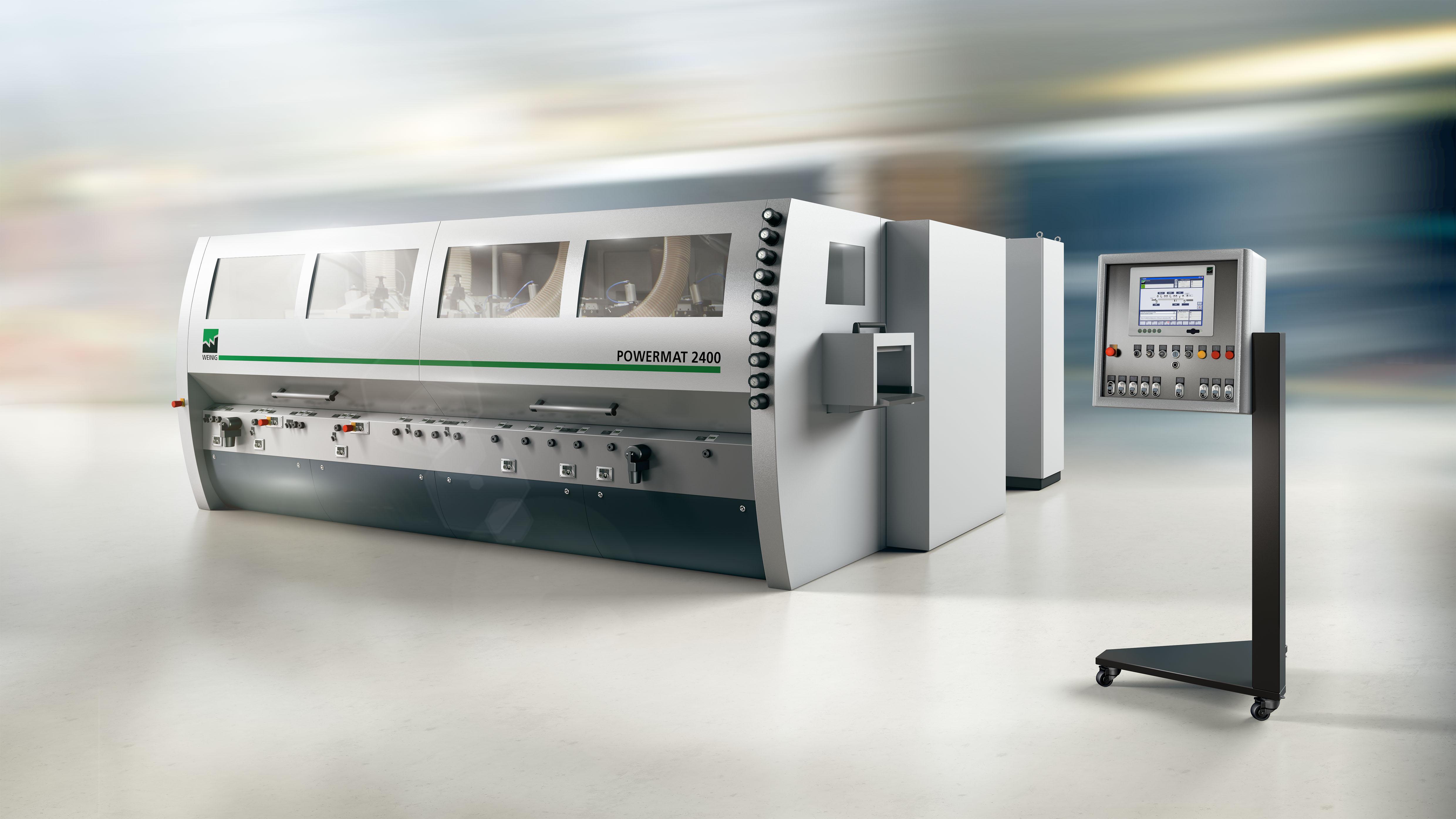 Rendering: Máquina de moldeo de alto rendimiento Powermat de WEINIG