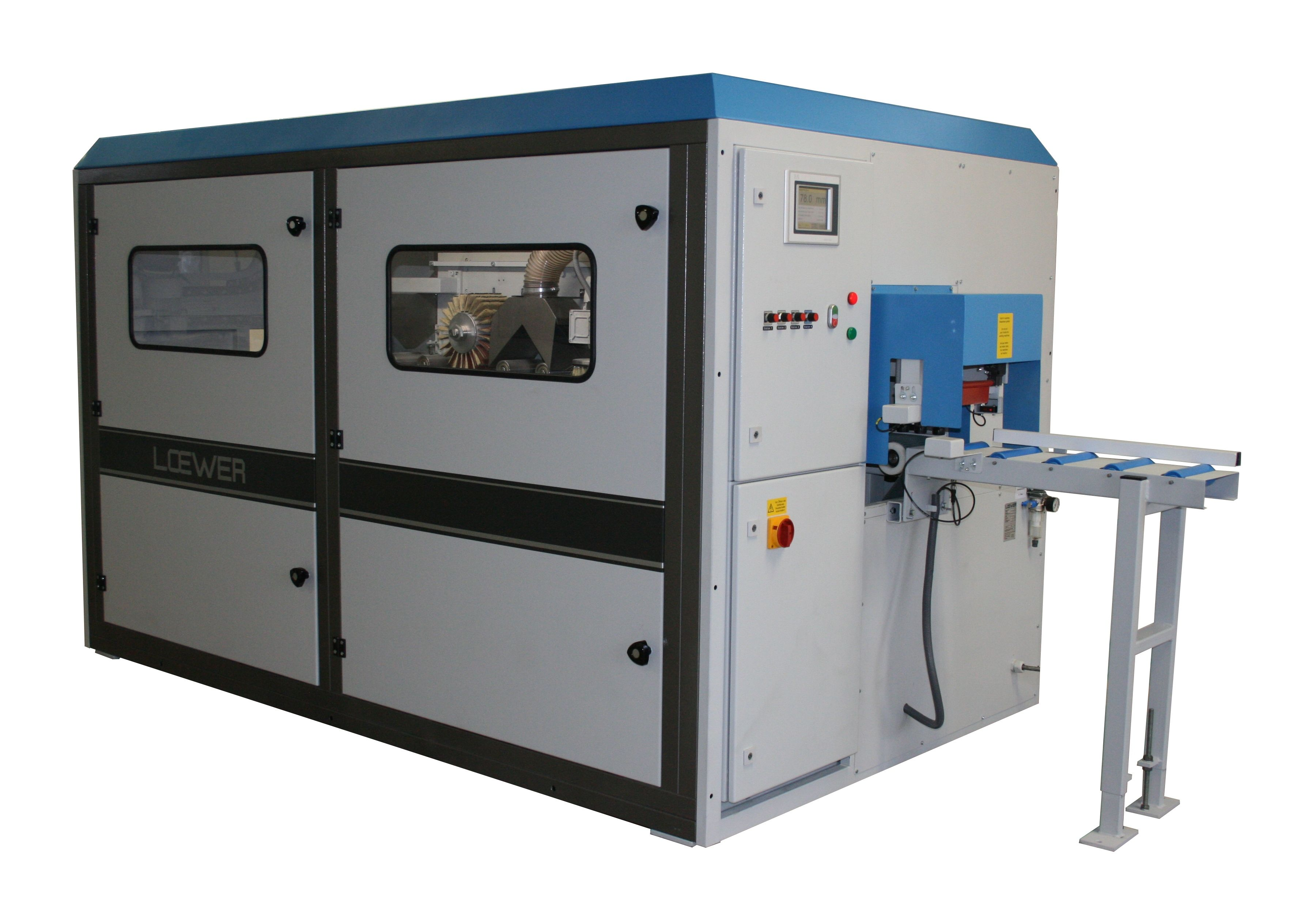 LeistoMat - Finish and intermediate sanding machine for frequently changing profiles