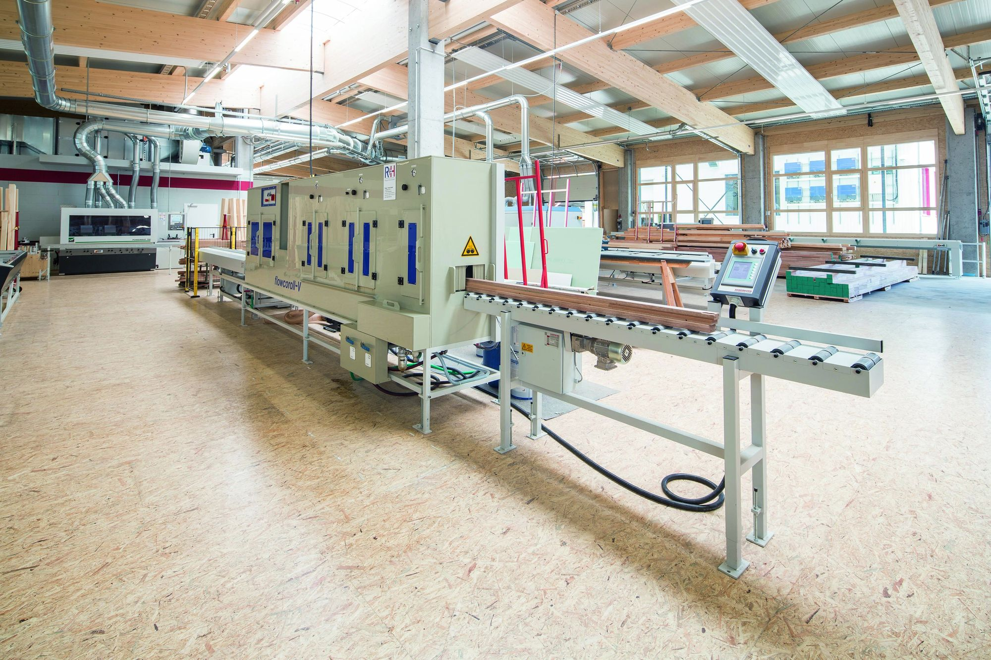 Fully automatic single part impregnation system flowcoroll-V