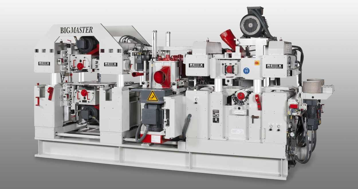 Universal high-performance planer BIGMASTER for industry and trade