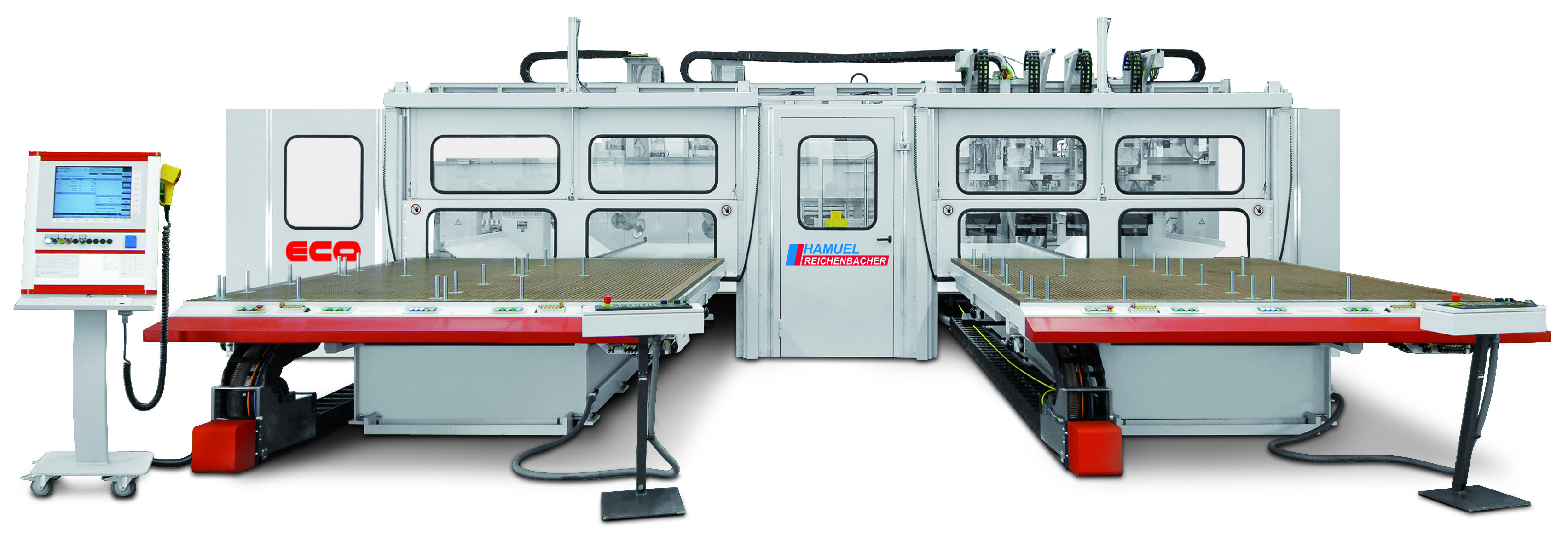 CNC machining centre ECO 2830-C with two mobile grid tables