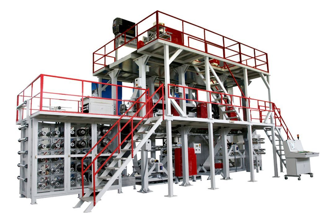 Two story coating plant